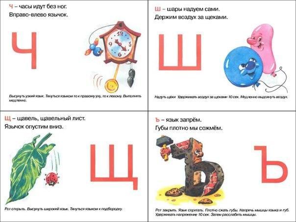 Пособия Алфавит артикуляционный алфавит, буквы ч, ш, щ,ъ , алфавит карточки распечатать