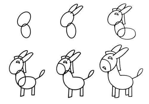 Пособия Уроки рисования как нарисовать лошадь, уроки рисования карандашом