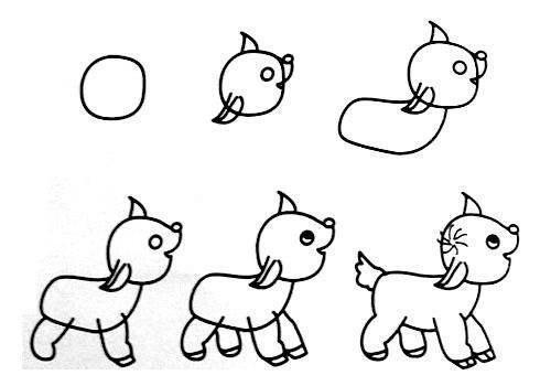 Пособия Уроки рисования как нарисовать козленка, уроки рисования для детей