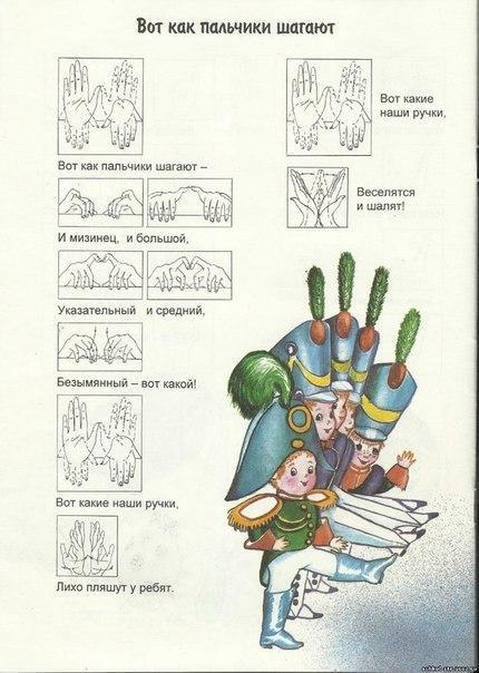 Пособия картотека вот как пальчики шагают, картотека пальчиковых игр